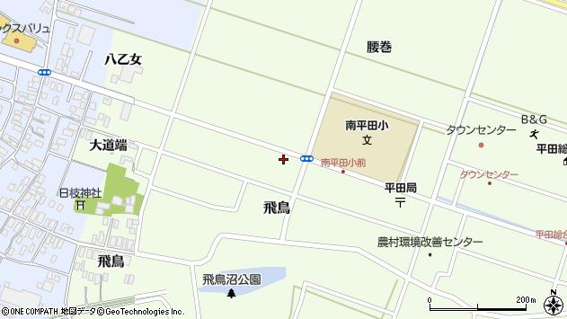 山形県酒田市飛鳥大道端135周辺の地図