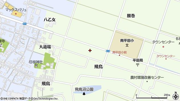 山形県酒田市飛鳥大道端142周辺の地図