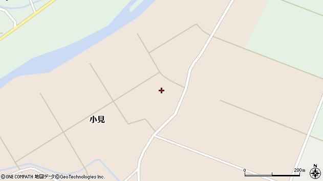 山形県酒田市小見早房32周辺の地図