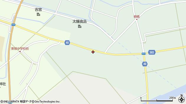 山形県酒田市楢橋荒町128周辺の地図