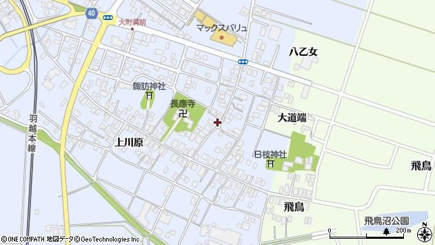 山形県酒田市砂越楯之内129周辺の地図
