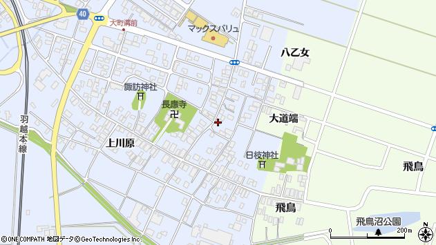 山形県酒田市砂越楯之内100周辺の地図