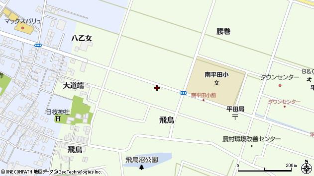 山形県酒田市飛鳥大道端141周辺の地図