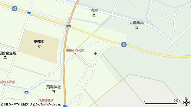 山形県酒田市飛鳥大林172周辺の地図