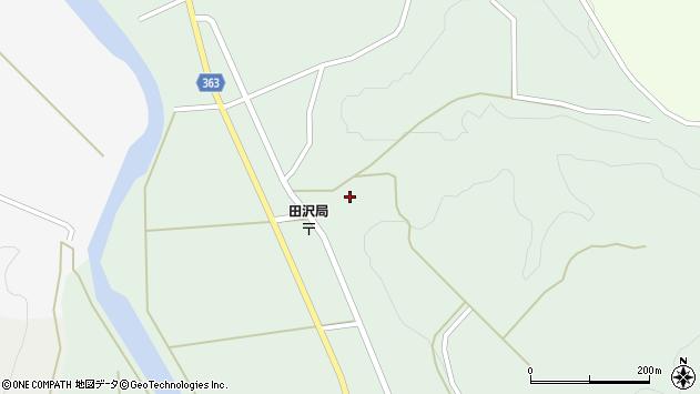 山形県酒田市田沢長根184周辺の地図