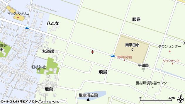 山形県酒田市飛鳥大道端143周辺の地図