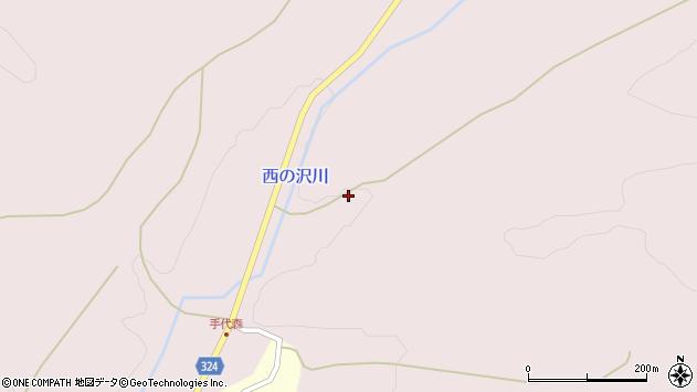 山形県最上郡金山町飛森294周辺の地図