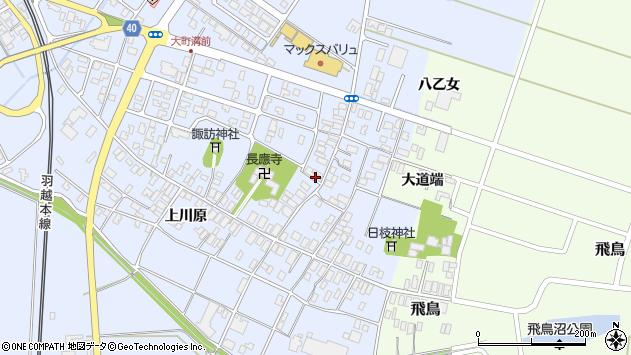 山形県酒田市砂越楯之内130周辺の地図