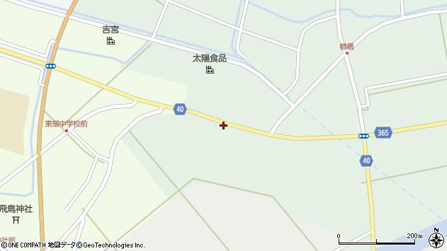 山形県酒田市楢橋荒町139周辺の地図