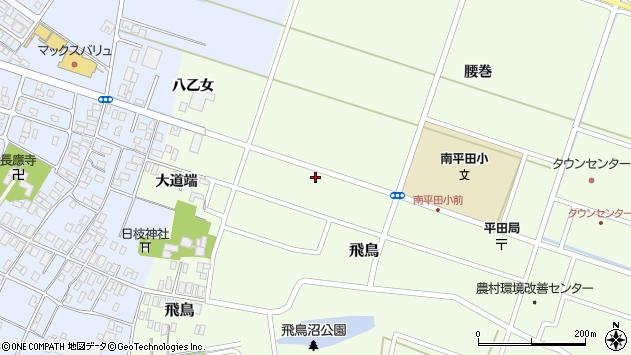 山形県酒田市飛鳥大道端145周辺の地図