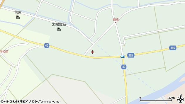 山形県酒田市楢橋荒町87周辺の地図