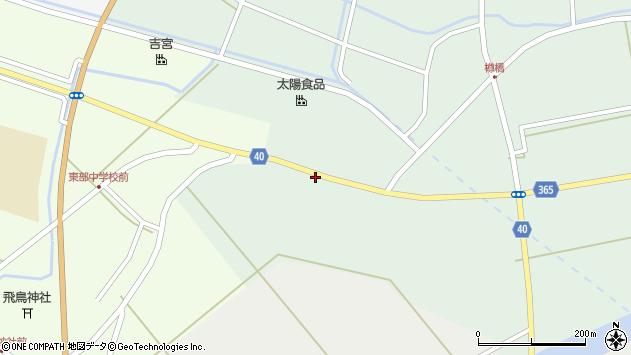 山形県酒田市楢橋荒町141周辺の地図