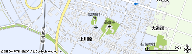 山形県酒田市砂越楯之内223周辺の地図