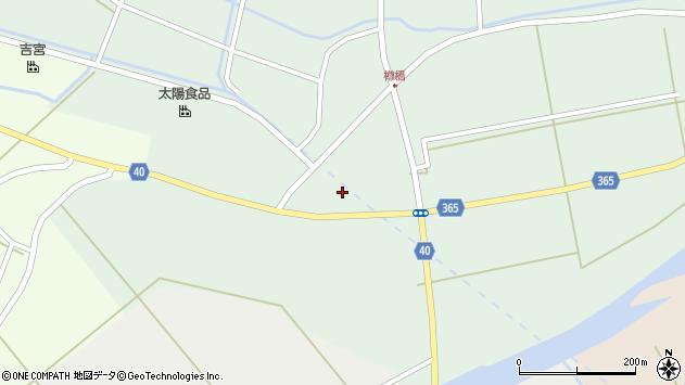 山形県酒田市楢橋荒町88周辺の地図