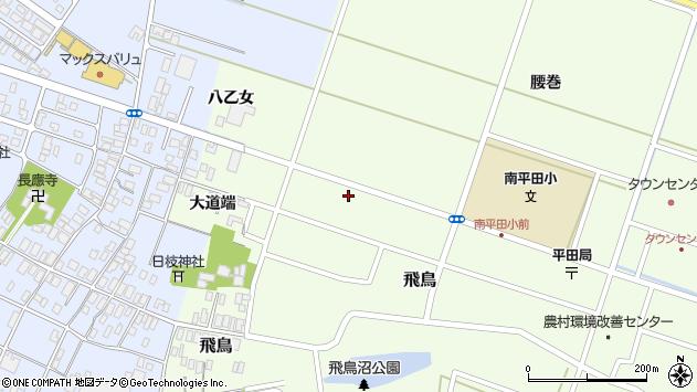 山形県酒田市飛鳥大道端147周辺の地図