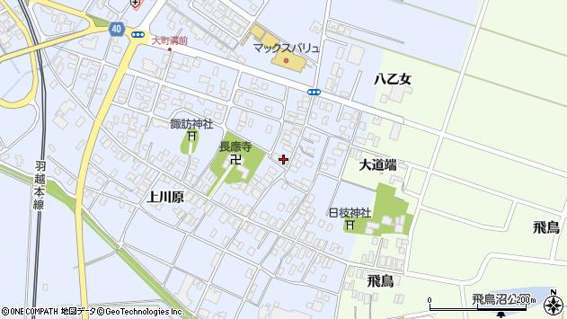 山形県酒田市砂越楯之内131周辺の地図