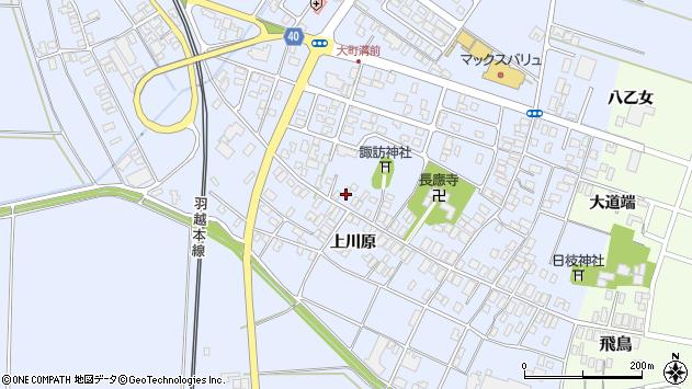 山形県酒田市砂越楯之内163周辺の地図