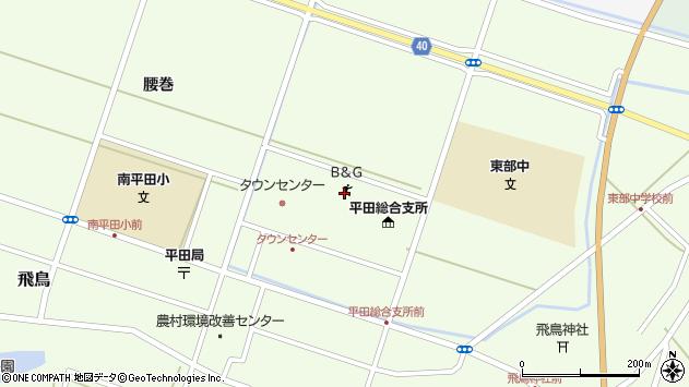 山形県酒田市飛鳥契約場31周辺の地図