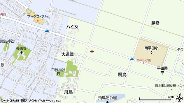 山形県酒田市飛鳥大道端151周辺の地図
