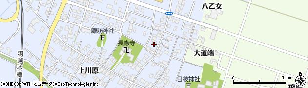 山形県酒田市砂越楯之内137周辺の地図