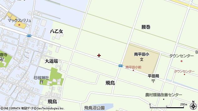 山形県酒田市飛鳥矢舞台70周辺の地図