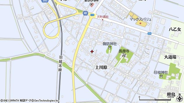 山形県酒田市砂越楯之内170周辺の地図