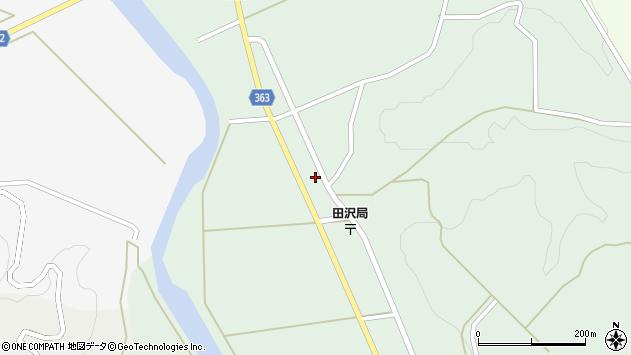 山形県酒田市田沢赤田淵1周辺の地図