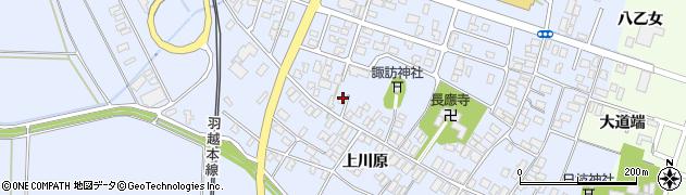 山形県酒田市砂越楯之内162周辺の地図
