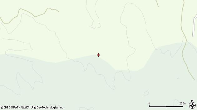 山形県酒田市中野俣引之沢周辺の地図