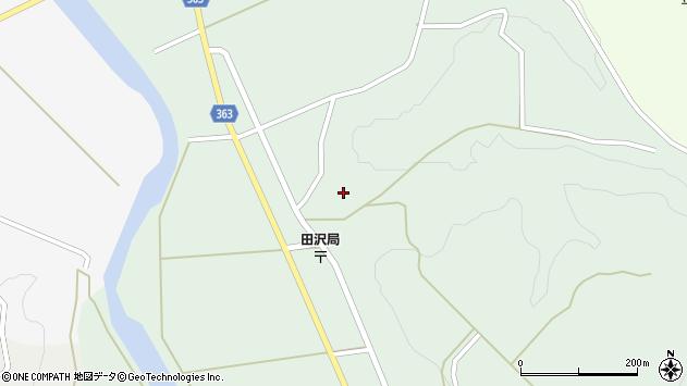 山形県酒田市田沢長根212周辺の地図