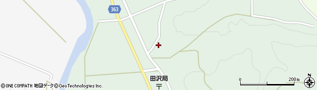 山形県酒田市田沢長根215周辺の地図