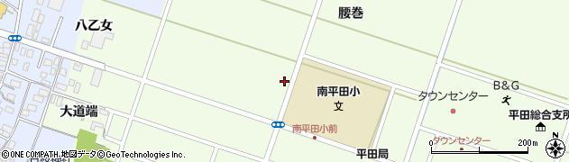 山形県酒田市飛鳥矢舞台周辺の地図