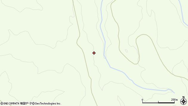 山形県酒田市中野俣大比羅周辺の地図