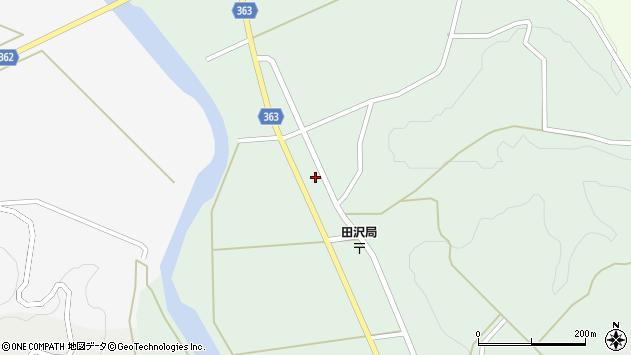 山形県酒田市田沢長根下24周辺の地図