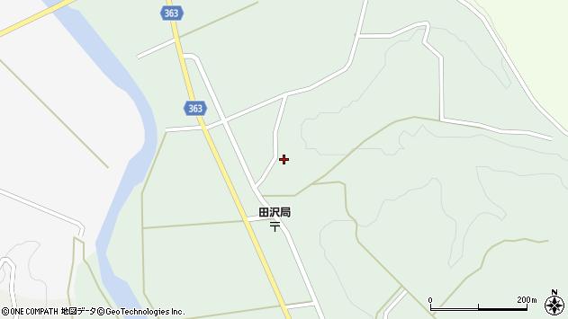 山形県酒田市田沢長根217周辺の地図