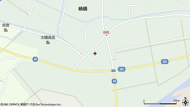山形県酒田市楢橋下川原338周辺の地図
