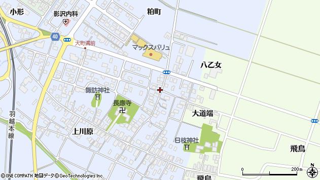 山形県酒田市砂越楯之内147周辺の地図
