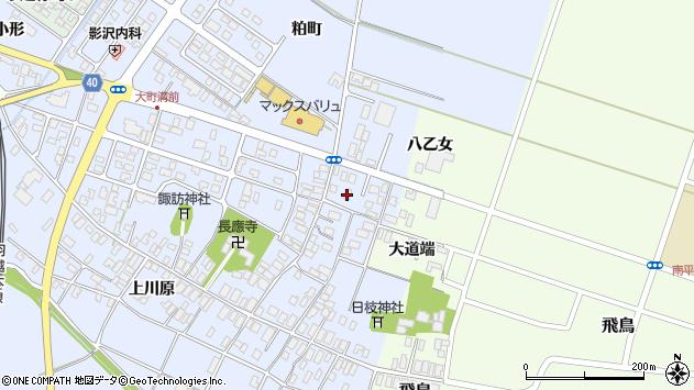 山形県酒田市砂越楯之内19周辺の地図