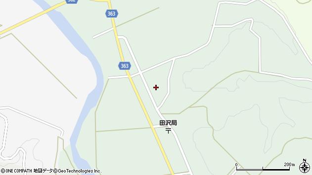 山形県酒田市田沢赤田淵30周辺の地図