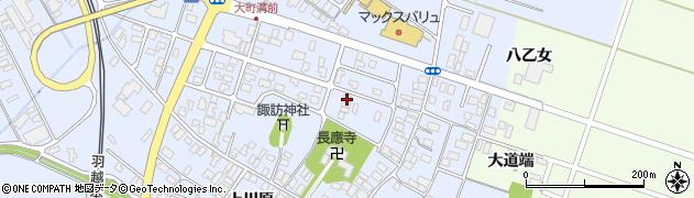 山形県酒田市砂越楯之内73周辺の地図