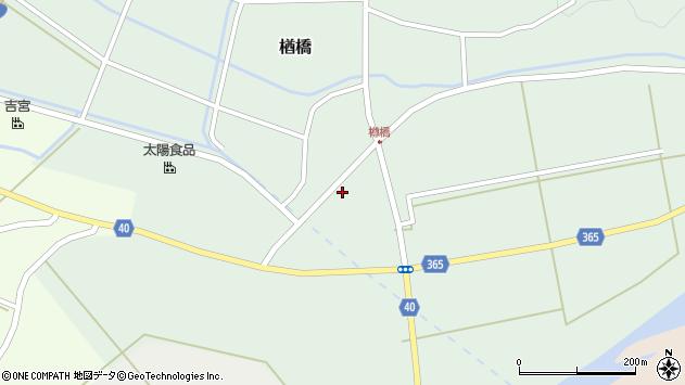 山形県酒田市楢橋荒町78周辺の地図