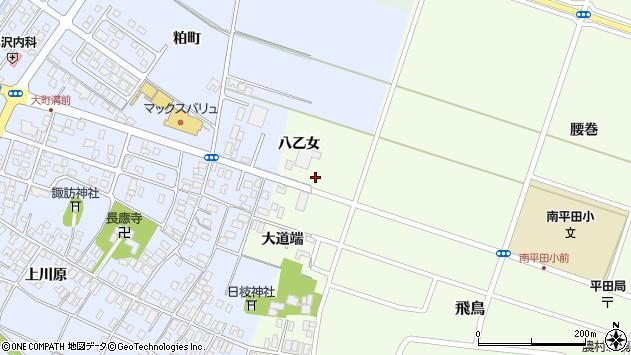 山形県酒田市飛鳥八乙女33周辺の地図