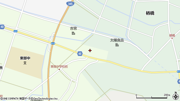 山形県酒田市飛鳥大林48周辺の地図