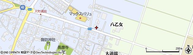 山形県酒田市砂越粕町26周辺の地図