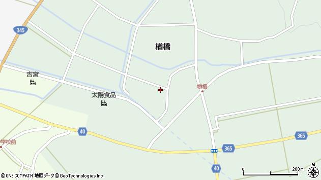 山形県酒田市楢橋大林4周辺の地図