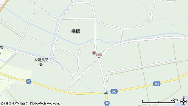 山形県酒田市楢橋荒町38周辺の地図