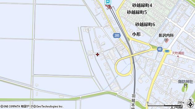山形県酒田市砂越上川原144周辺の地図