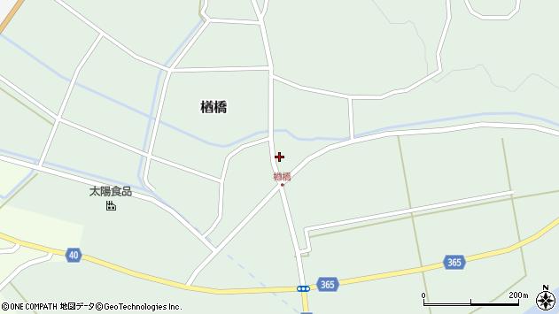 山形県酒田市楢橋荒町26周辺の地図