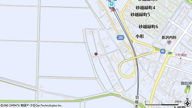 山形県酒田市砂越上川原355周辺の地図