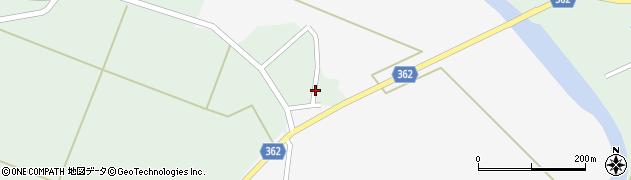 山形県酒田市上北目谷地田2周辺の地図